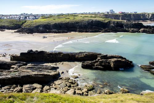 Porth Beach - just a short drive from Meadow Rise
