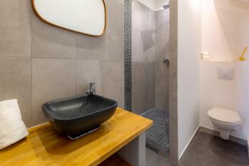 Salle d'eau appartement Méditerranée