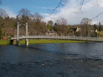 River Ness Victorian footbridge
