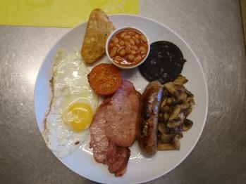 Heathcliff - Full English Breakfast