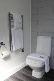 Gillan Toilet and towel rail
