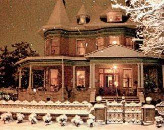 HASSINGER DANIELS MANSION BB Rare Snow
