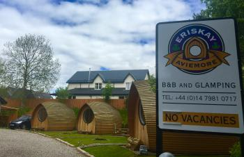 Eriskay Guest House and Aviemore Glamping - Main Entrance