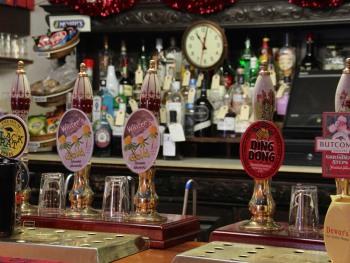 Crown and Trumpet Inn Bar