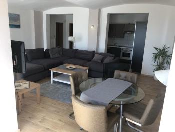 Ferienwohnung Wohnzimmer mit Küche