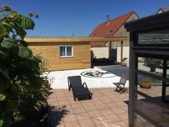 Chambre 6 - 20m² - Studio vue piscine