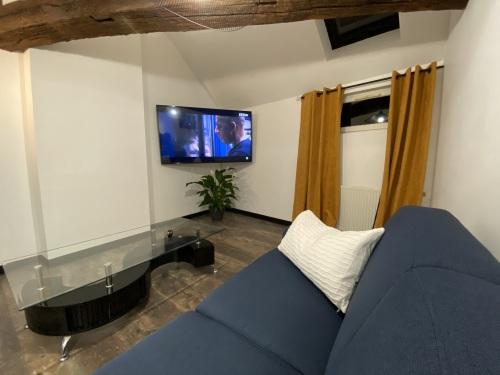 Salon grande TV