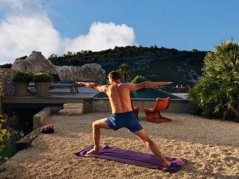 Mise à disposition de tapis de yoga
