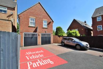Property Rear View with Allocated Parking