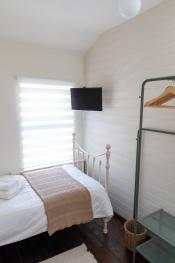 Twin Room comes with TV and Hanging Space
