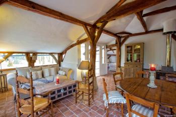 Maison-Cottage-Salle de bain et douche-Vue sur la campagne-La Bergerie