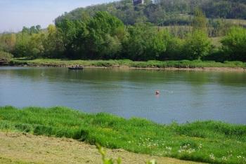 Bords de Garonne au pied de la maison d'hôtes