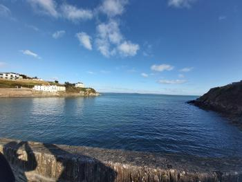Portmellon just a few mins walk of the House offering kayaking/SUP/swimming/fishing from