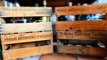 Wein schecnkt Freude