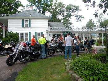 "Inn is situated in the ""driftless"" region of Wisconsin, making our paved county roads ideal for motorcycles."