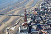 The famous Blackpool tower