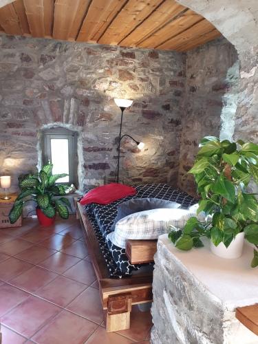 Vierbettzimmer-Standard-Eigenes Badezimmer-Blick auf die Landschaft