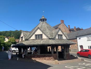 Historical nearby village of Dunster