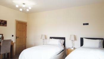 Chestnut - Room 2-Twin room-Luxury-Ensuite with Shower-Countryside view - Base Rate