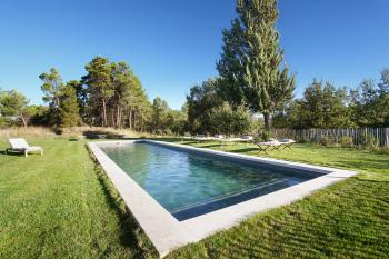 La piscine de 14x4 m