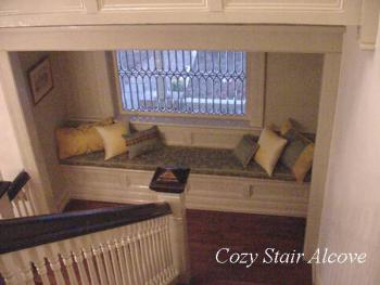 COBB LANE BB Cozy stair alcove