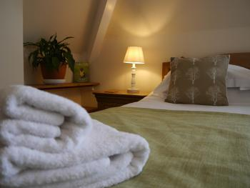 100% Cotton Luxurious Towels Provided at Eastfield Lodge