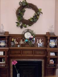Decorative Mantelpiece at Inn Port