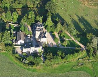 Augill Castle from the sky