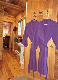 Bill's Cabin Bathroom Entrance