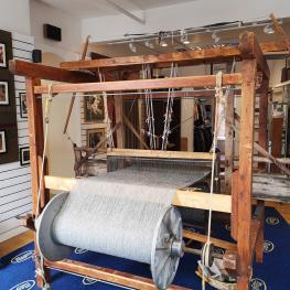 Weaving at Magees, Donegal town.
