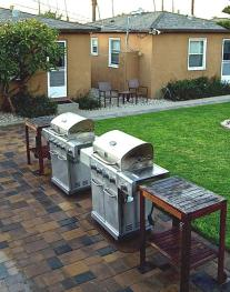 Two big BBQs for every one to use!