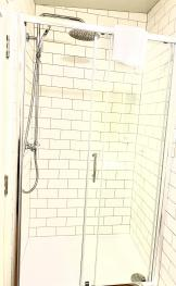 Our powerful showers help kick start the day