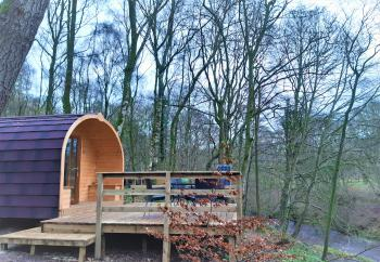 Cabin-1-Comfort-Pod-Ensuite with Shower-River view