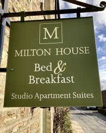 Milton House Bed and Breakfast - Front of property