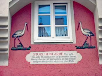 Historisches Haus Storchenfärbe