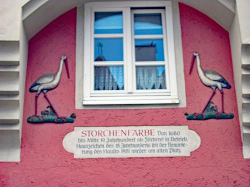 Historic House Storchenfarbe