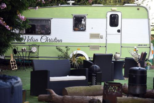 Melisa Christina-Romantic-Caravan-Ensuite with Shower-Countryside view - Base Rate