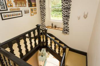Main wide staircase