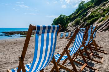 Relax in the sun at Millendreath Beach Resort
