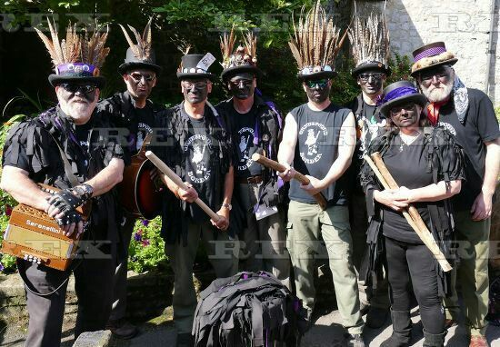 Grimspound Border Morris - 8pm Thursday 13th June