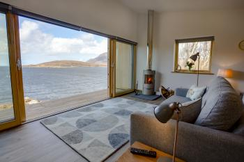 A cosy contemporary retreat in the North West Highlands of Scotland