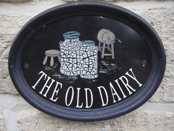 Old Dairy Double or Twin Room Plaque