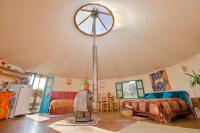 Big Yurt, Inside view