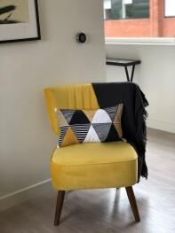 Velvet Chair & Nest Heating Control