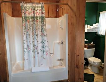Woodview Room #2 Whirlpool/Shower and Bathroom