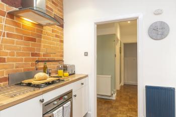Kitchen - Modern - Brick - Stylish