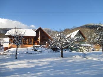 La Cerisaie sous la neige