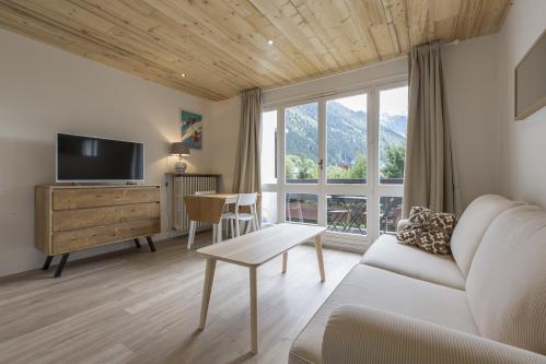 Appartement 202 avec Balcon - Vue sur Mont Blanc
