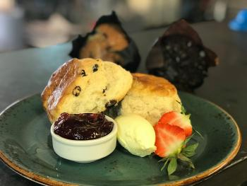 Cream teas and cakes served daily at our Bistro