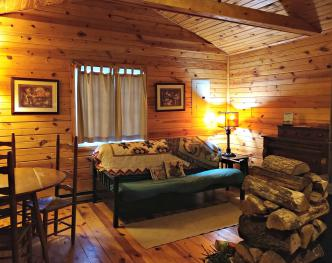 Bill's Cabin Living Room